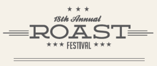 Roast Festival logo program front