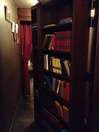 Bookcase Open